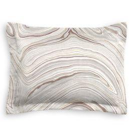Light Gray Marble Sham
