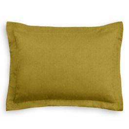 Chartreuse Green Velvet Sham