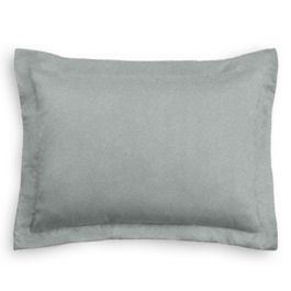 Light Gray Velvet Sham