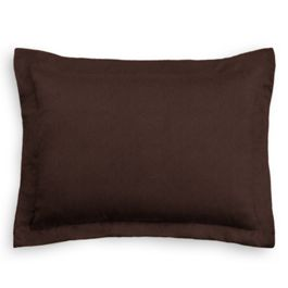 Chocolate Brown Velvet Sham