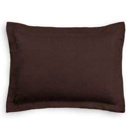 Chocolate Brown Velvet Sham