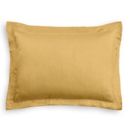 Golden Tan Velvet Sham