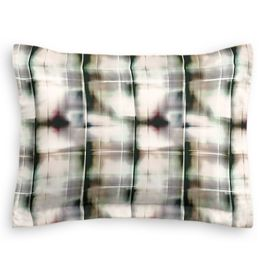 Black & White Shibori Sham