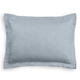 Blue-Gray Linen Standard Sham