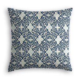 Blue Moroccan Mosaic Euro Sham