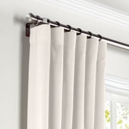 Custom Ring Top Curtains with Rod Pocket