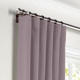 Light Purple Sunbrella® Canvas Curtains with Pocket Close Up