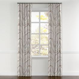 Light Gray Marble Curtains with Pocket Close Up