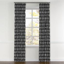Black White Trellis Outdoor Fabric