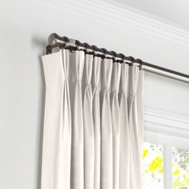 Custom Pleated Curtains & Pinch Pleat Curtain