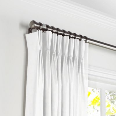 buy pinch hanging panels on to i rod pleated drapes hang where traverse grommet how rods and a curtains curtain can