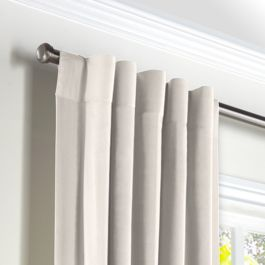 Custom Back Tab Curtains
