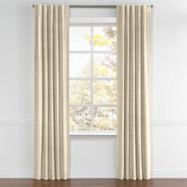 Metallic Gold Shagreen Back Tab Curtains Close Up