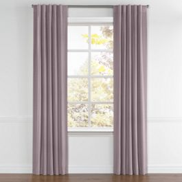 Light Purple Sunbrella® Canvas Back Tab Curtains Close Up