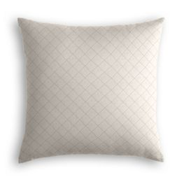 Gray Diamond Pintuck Pillow
