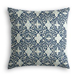 Blue Moroccan Mosaic Pillow
