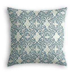 Aqua Moroccan Mosaic Pillow