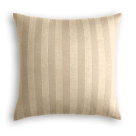 Metallic Gold Stripe Pillow