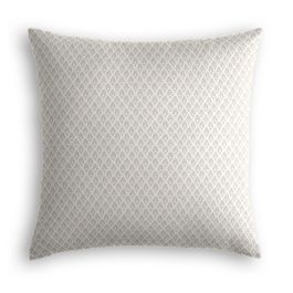 White Mini Diamond Pillow
