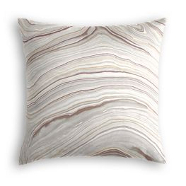 Light Gray Marble Pillow