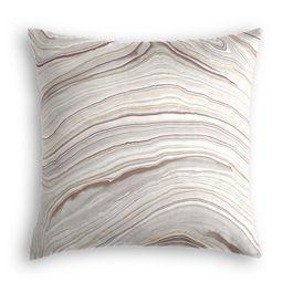 Light Gray Marble Pillow
