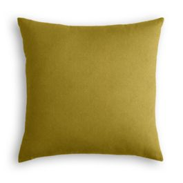 Chartreuse Green Velvet Pillow