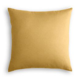 Golden Tan Velvet Pillow