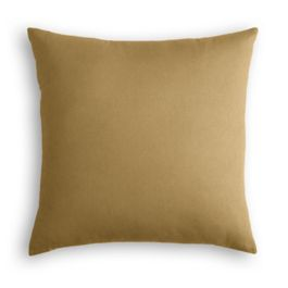 Warm Camel Velvet Pillow