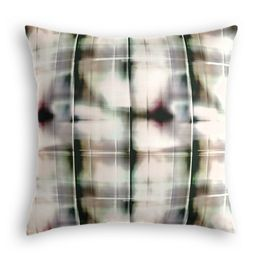 Black & White Shibori Pillow