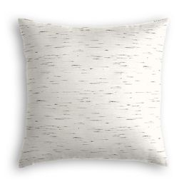 White & Gray Marled Pillow
