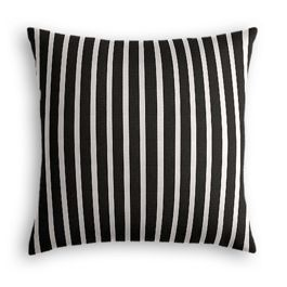 Black & White Thin Stripe  Pillow