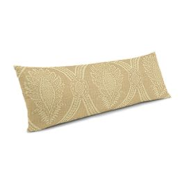 Ivory Medallion Trellis Large Lumbar Pillow