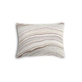 Light Gray Marble Boudoir Pillow