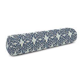 Blue Moroccan Mosaic Bolster Pillow