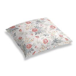 Pink & Gray Lotus Flower Floor Pillow