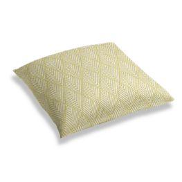Tribal Green Diamond Floor Pillow
