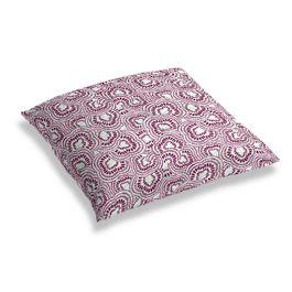 Seafoam & Purple Scallop Floor Pillow