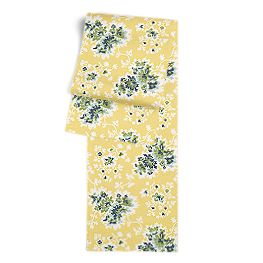 Yellow & Green Leaf Table Runner