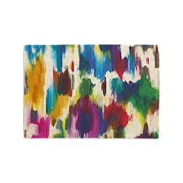 Multicolor Watercolor Placemats