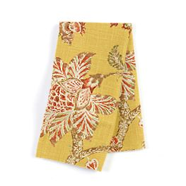 Delicate Yellow Floral Napkins