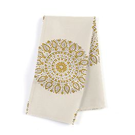 Lime Green Medallion Napkins
