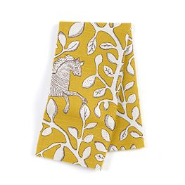 Yellow Animal Motif Napkins