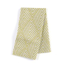 Tribal Green Diamond Napkins