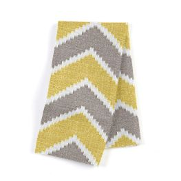 Gray & Yellow Chevron Napkins