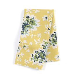 Yellow & Green Leaf Napkins