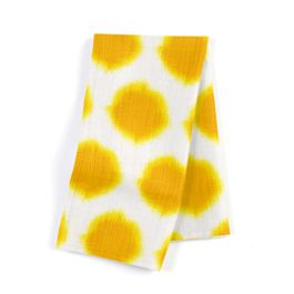 Bright Yellow Dot Napkins