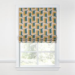 Custom Roman Shades & Fabric Roman Shades | Loom Decor on wood kitchen ideas, skylight kitchen ideas, window kitchen ideas, roman shades kitchen ideas,