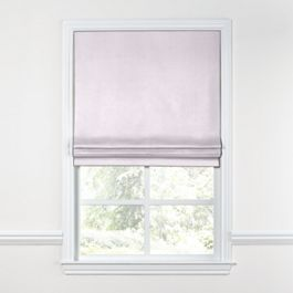 Light Purple Linen Roman Shade