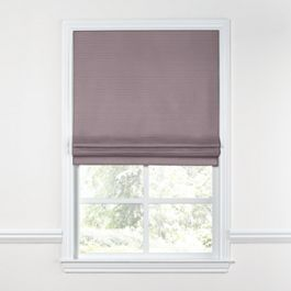 Light Purple Sunbrella® Canvas Roman Shade
