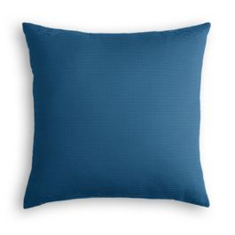 Royal Blue Sunbrella® Canvas Outdoor Pillow